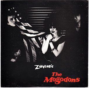 The Mogodons - Zuvembie Lp cover, photo by Yvonne Gilbert