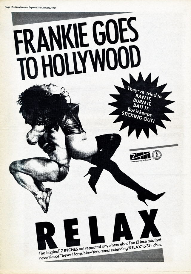 FGTH Relax NME ad 21:01:84