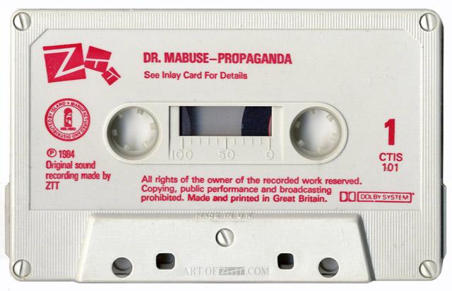 Prop Dr Mabuse CTIS 101 cassette