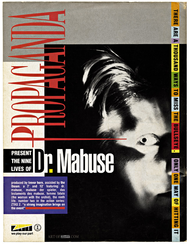 Propaganda Dr Mabuse advert for The Face 02.84