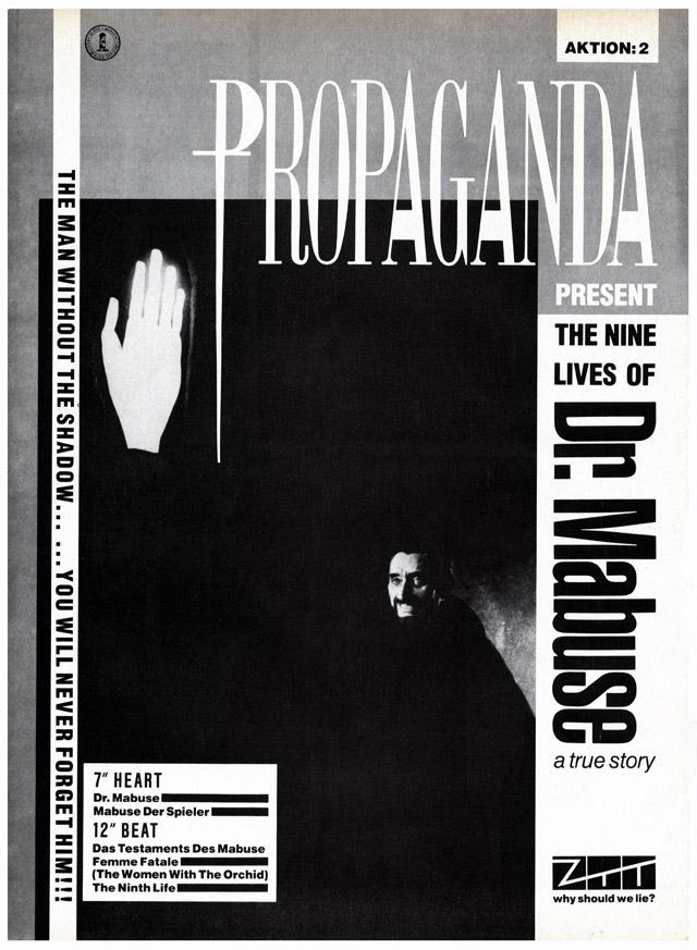 Propaganda Dr Mabuse No.1 Mar 10 '84