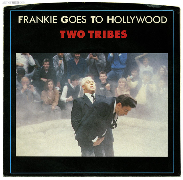 Frankie Goes To Hollywood 'Two Tribes' US 12″ single