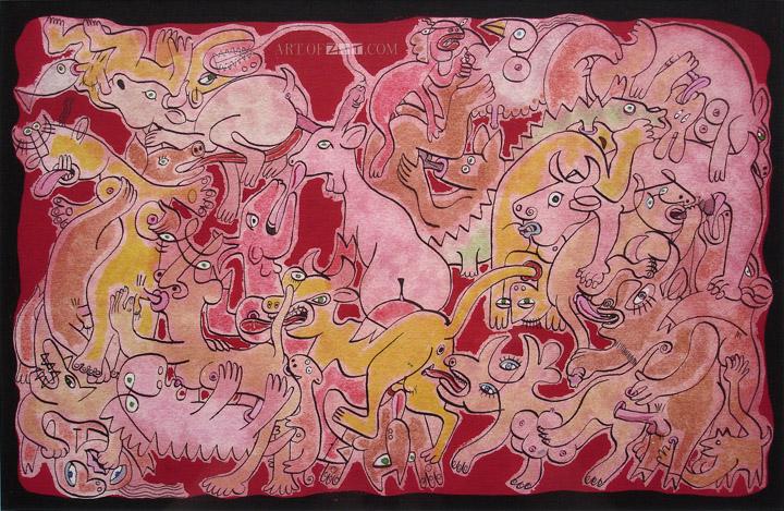 Lo Cole animal orgy uncensored