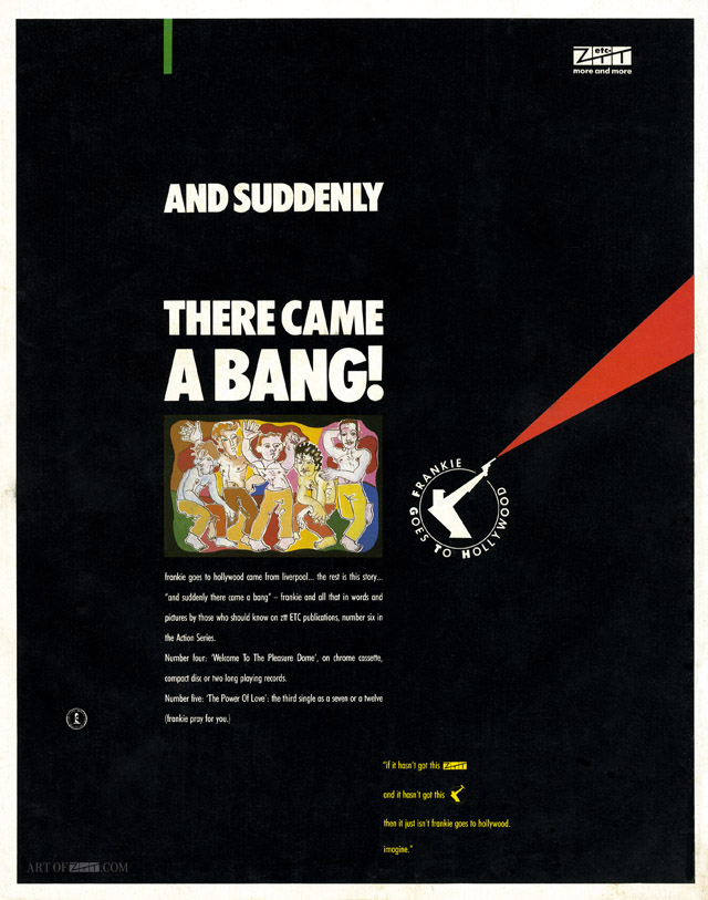 And Suddenly There Came A Bang! Zig Zag advert 11.84