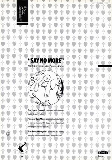Welcome To The Pleasuredome Zig Zag advert 11.84